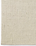 Looped Basket Weave Rug - Cream