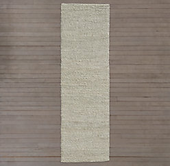 Braided Twist Jute Rug - Chocolate