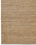 Braided Twist Jute Rug - Caramel