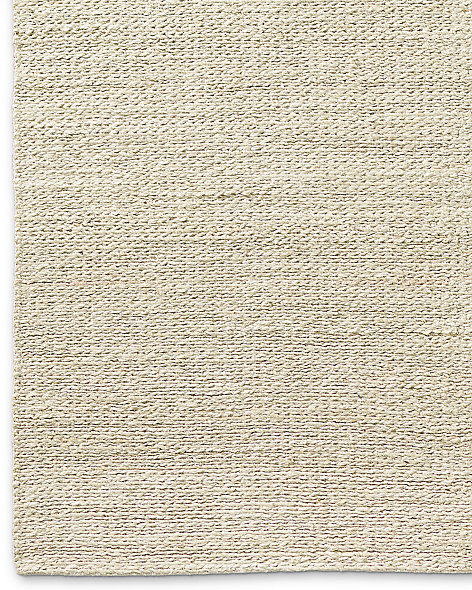 Braided Twist Jute Rug - Cream