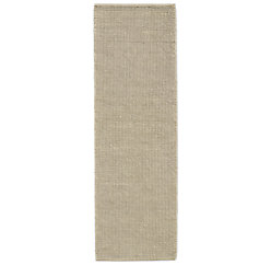 Knotted Jute Rug - Light Grey