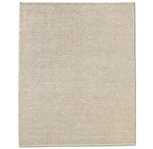 Knotted Jute Rug - Cream