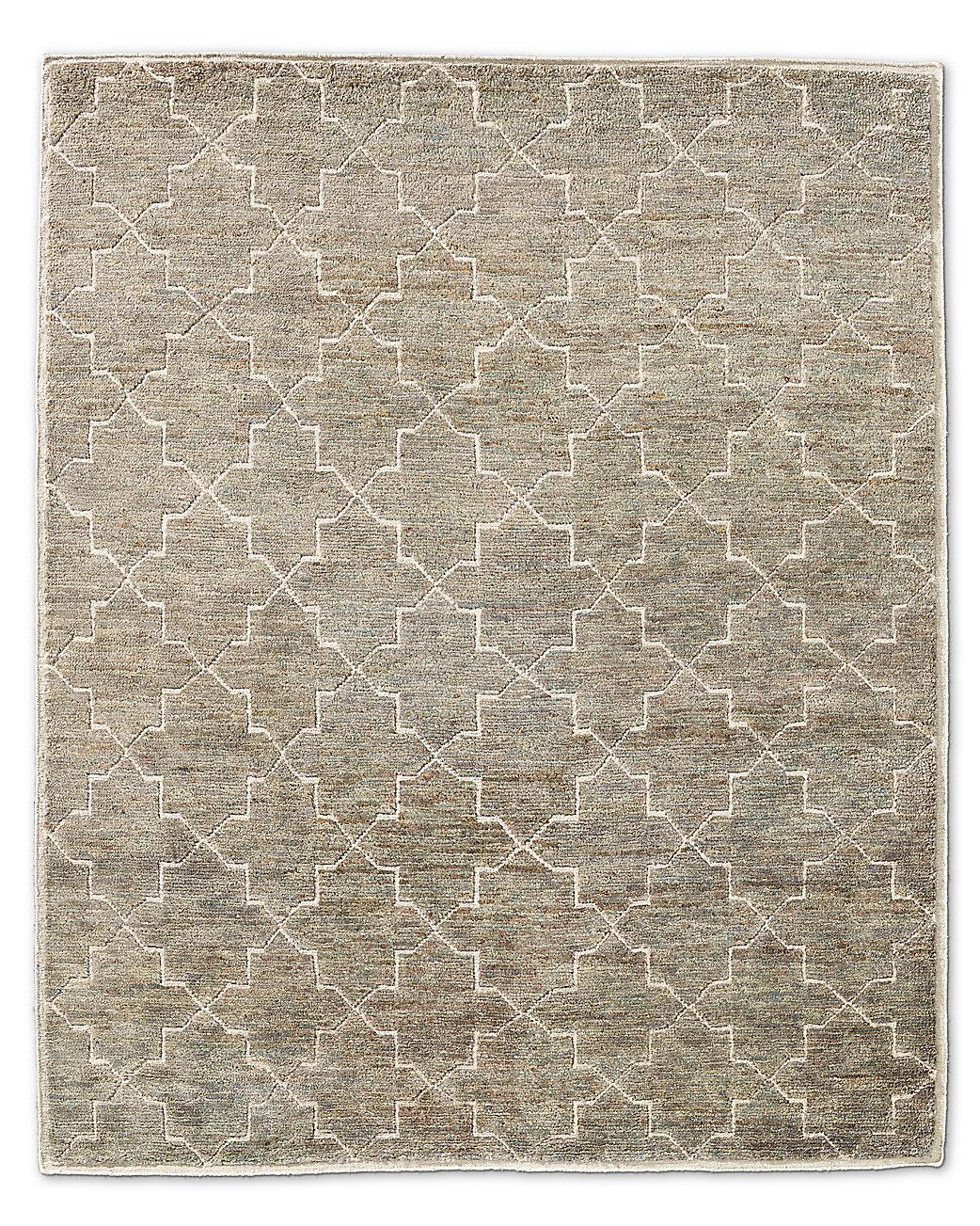 Moroccan star rug fog for Restoration hardware rugs on sale