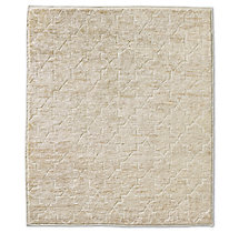 Moroccan Star Rug - Cream