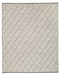 Braided Diamante Rug - Fog