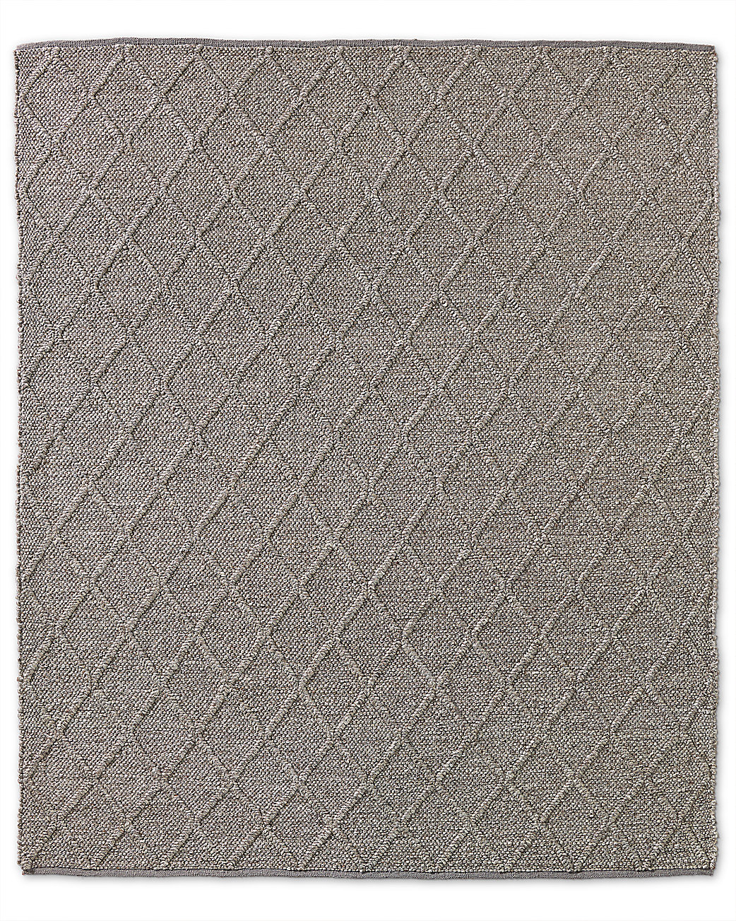 Braided Diamante Rug - Mocha