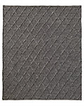 Braided Diamante Rug - Graphite