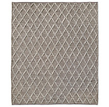 Braided Diamante Rug - Mocha/Fog