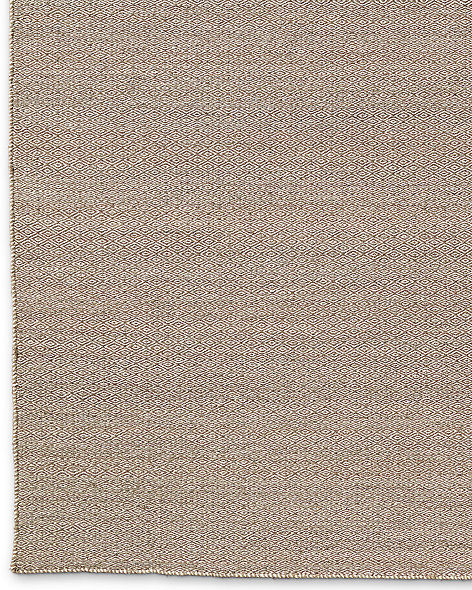 Diamond Tile Flatweave Rug - Latte