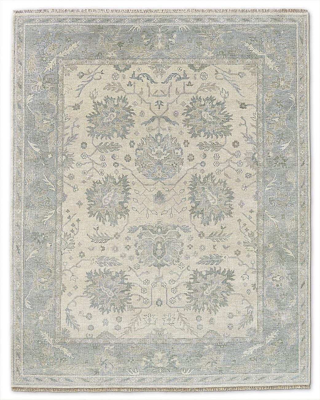 Ayla rug silver mist for Restoration hardware rugs on sale