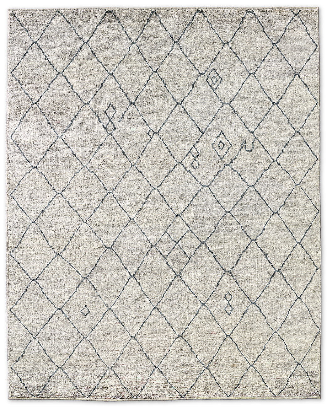Miya Rug Cream Grey