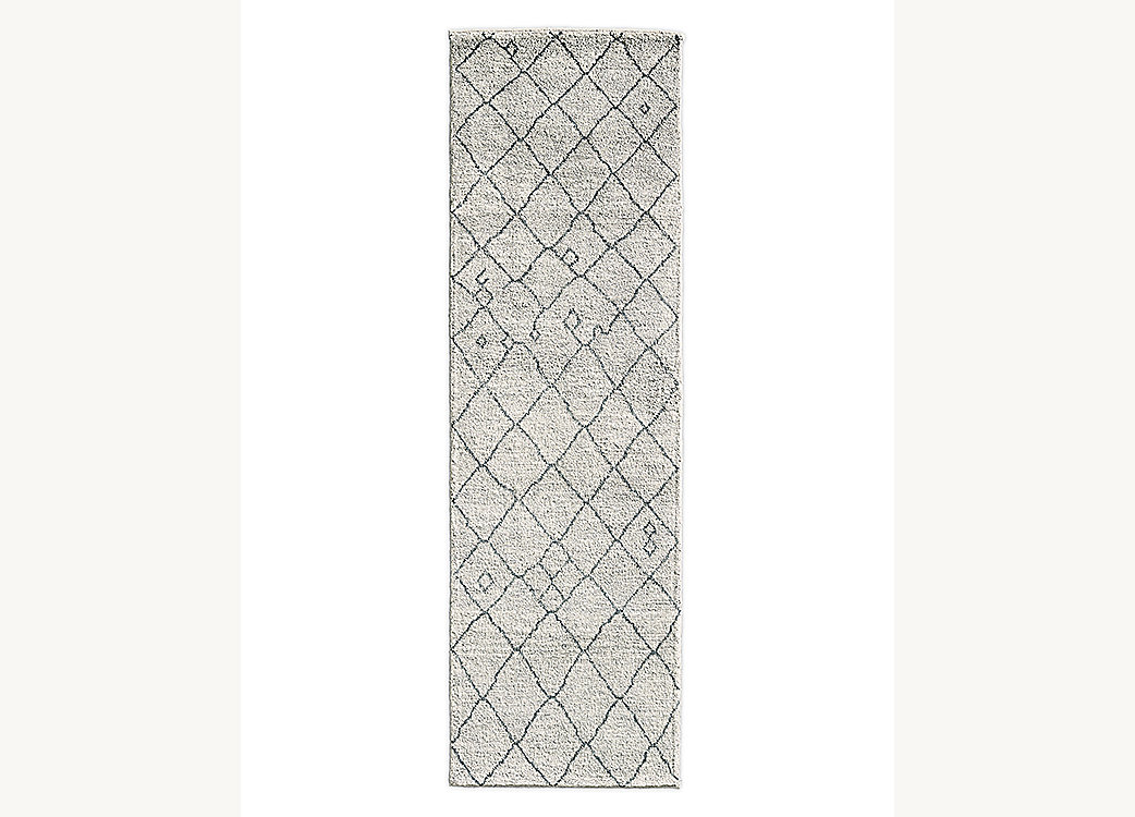 Miya Rug - Cream/Grey