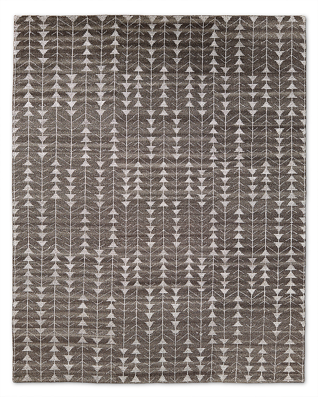 Cedro Moroccan Wool Rug Charcoal