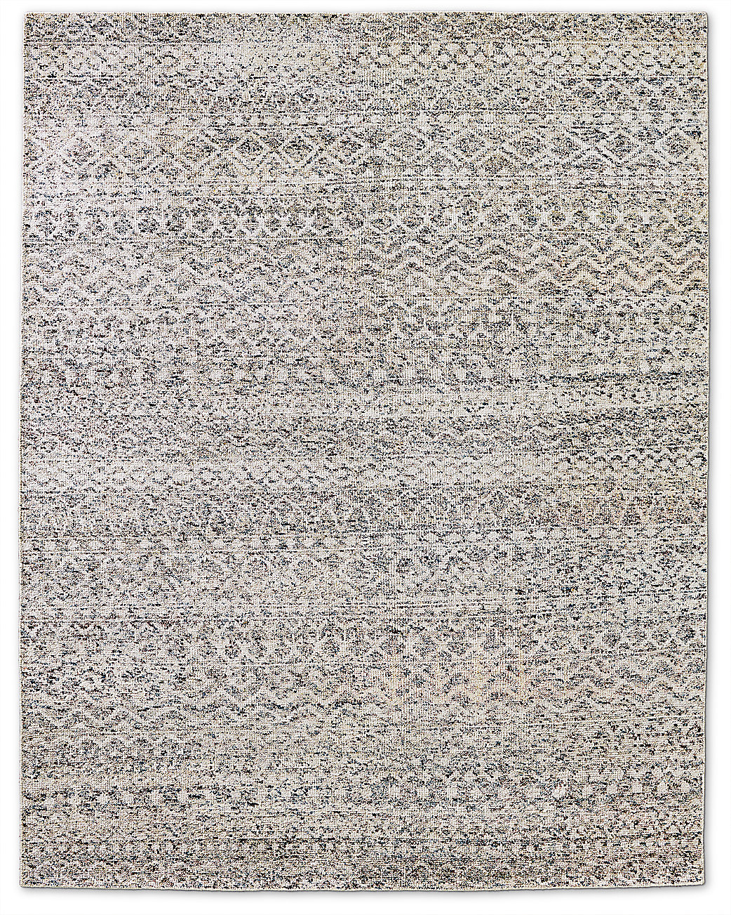 Zahira Moroccan Rug - Blue/Chocolate