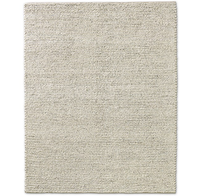 Chunky Textured Rug Cream