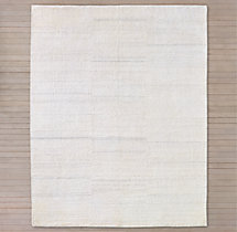 Shara Striated Rug - Ivory