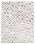 Arlequin Rug - Cream/ Charcoal