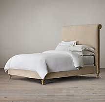 Ellsworth Fabric Sleigh Bed