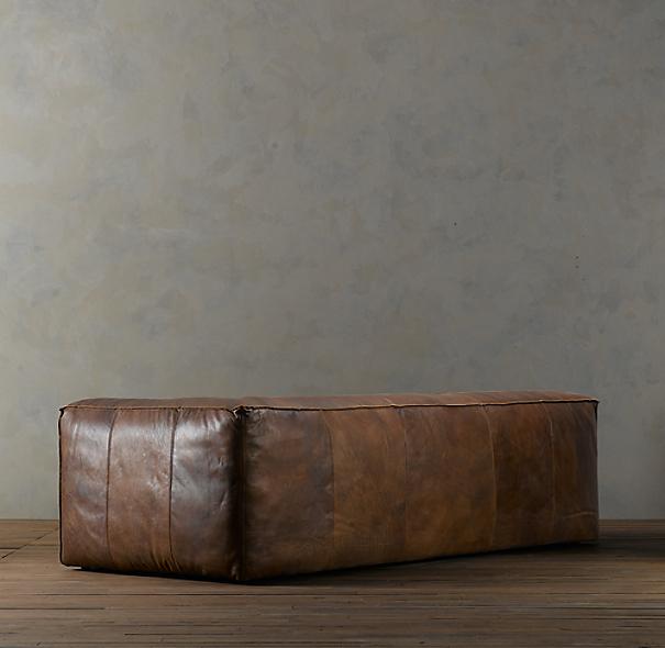 Fulham Leather Sofa