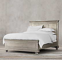 Annecy Metal-Wrapped Bed
