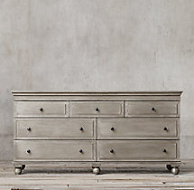 Annecy Metal-Wrapped 7-Drawer Dresser