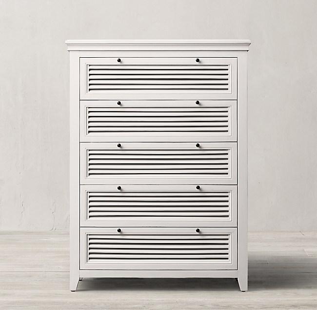 Shutter 5-Drawer Dresser