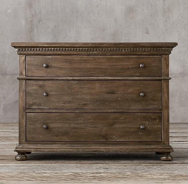 St James 3 Drawer Dresser