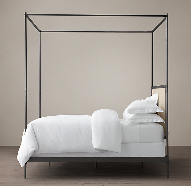 ... Iron Canopy Bed. COLOR PREVIEW UNAVAILABLE