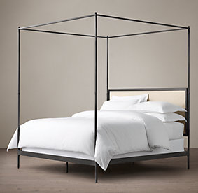 Metal Canopy Bed Frames all canopy beds | rh