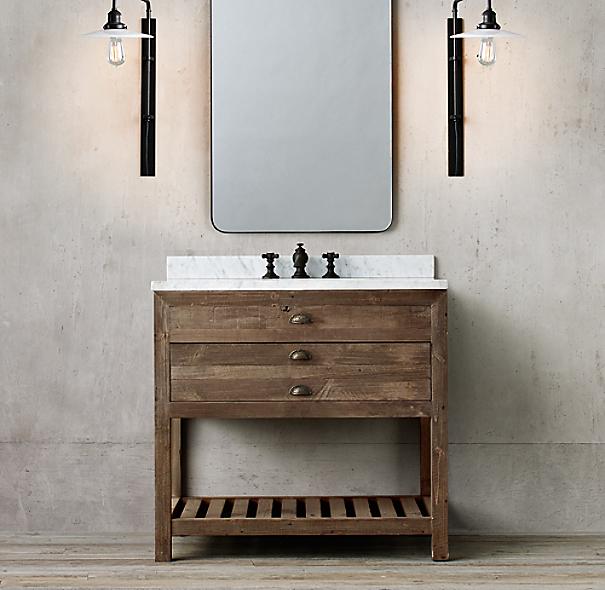 printmaker 39 s single vanity sink