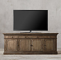 "St. James Panel 84"" Media Console"