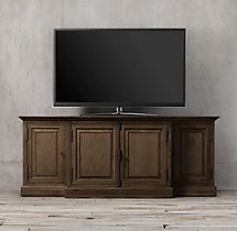 "French Panel 80"" Media Console"