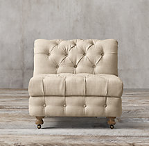 Cambridge Upholstered Armless Chair
