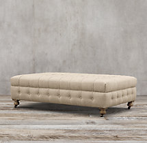 Cambridge Upholstered Coffee Ottoman