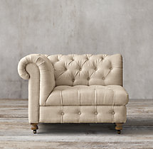 Cambridge Upholstered Corner Chair