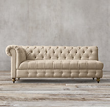 Cambridge Upholstered Left-Arm Sofa