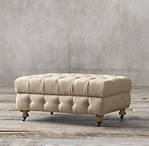 Cambridge Upholstered Ottoman