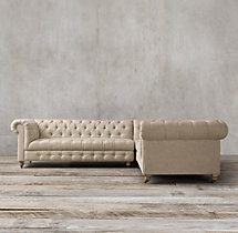 Cambridge Upholstered Corner Sectional