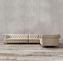 Cambridge Upholstered L-Sectional