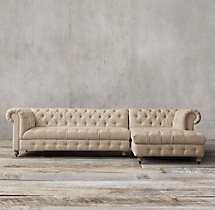 Preconfigured Cambridge Upholstered Right-Arm Chaise Sectional