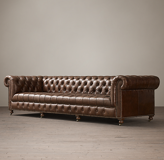 Cambridge Leather Sofa Color Preview Unavailable Alternate View 1