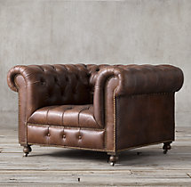 Cambridge Leather Chair