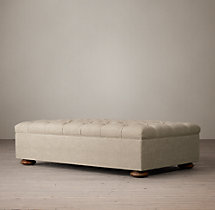 Churchill Upholstered Coffee Ottoman