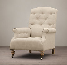 Diplomat Upholstered Club Chair