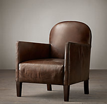 Jules Leather Club Chair