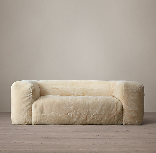 98 Fulham Shearling Sofa