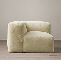 Fulham Shearling Corner Chair