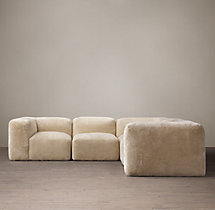 Fulham Shearling Corner Sectional
