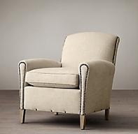 Gerrard Upholstered Club Chair