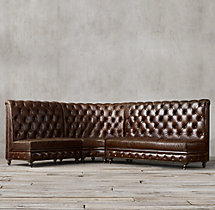 Kensington Leather L Banquette
